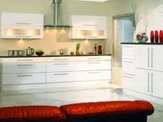 Lincoln  High Gloss White Kitchens