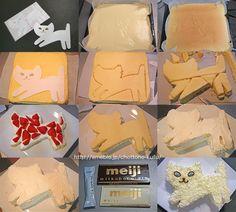 How to make a cake shaped cake