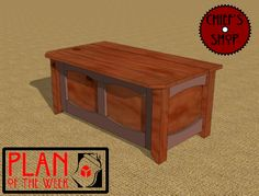 Plan of the Week: Storage Bench