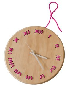 Stiched   Wall Clock