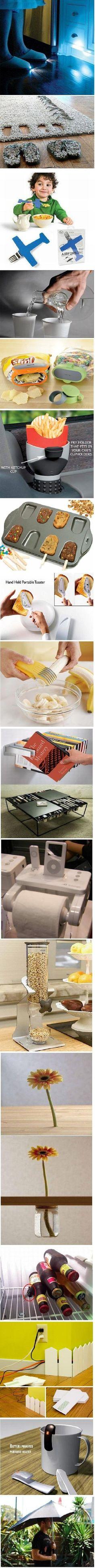 Simple but brilliant ideas