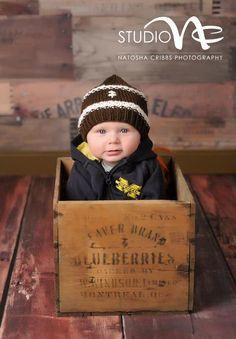 Newborn Boy Baseball Hat Newborn Photo Prop by smittenwithknitn, $22.99