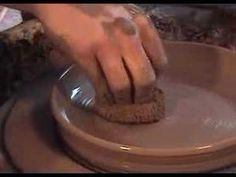 "▶ Quick Plates -- Important to do a lot of coning as the plates will have a wide surface; compress compress compress; flatten to 1"" of clay;"