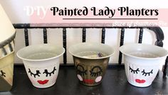 DIY Painted Lady Fac