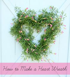 How to Make a Wreath for Valentine's Day