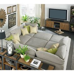 tv room - love the couch