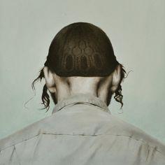 """Saatchi Online Artist Diederik Boyen; Painting, """"Self-Portrait (Blurred Boundary)"""" #art"""