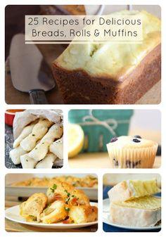 25 Bread Recipes
