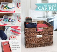 DIY car kit cars diy crafts organization