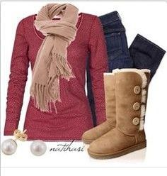 ugg boots, fall outfits, christmas outfits, cozy fashion, casual outfits, xmas gifts, scarv, school outfits, fall winter outfits
