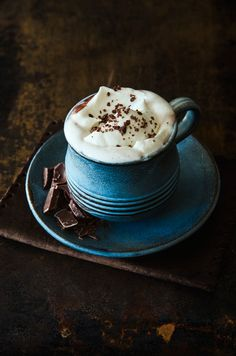 Hot chocolate... And that mug