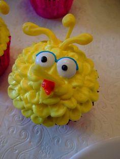 Lovely Sprinkles: Sesame Street Cupcakes