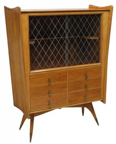 MCM Italian Design Liquor Cabinet / Bar