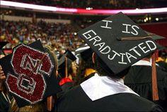 graduation cap decoration - I Is Gradjiated