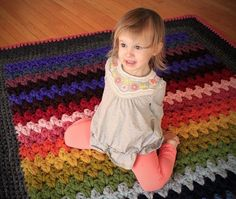 Crochet, crochet, crochet. Living room rug?