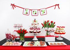 birthday parti, stuff, parties, 1st birthday, ladybug parti, ladybug party, parti idea, ladybug birthday, parti ladybug