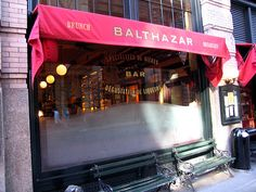 Favorite Restaurant: Balthazar...its only a block away from John Mayer's apartment in Soho.