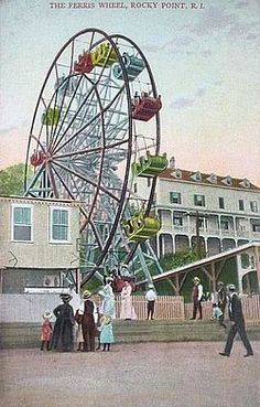 The Rocky Point Amusement Park was a highly popular amusement park on the Narragansett Bay side of Warwick, RI. It operated from the late 1840s until its close in 1995. Rocky Point was an idea first thought of by Captain William Winslow in the 1840s. By 1847, he had purchased a portion of the land and began to offer amusements and serve dinner. From the 1950s thru mid 1990s Rocky Point was the most popular attraction in Rhode Island.