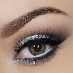 ".@vegas_nay | Prom Makeup Request ""Silver Eyeshadow"" using the Urban Decay Naked ... 