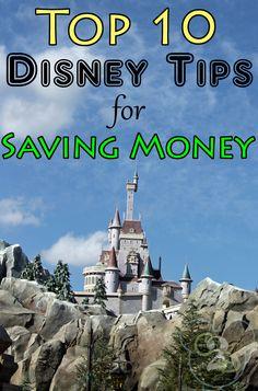 Top 10 Disney tips for saving money!
