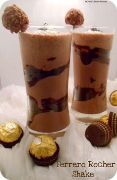 Ferrero Rocher Shake :)