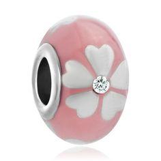 Pink pandora charm