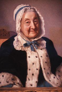 Marthe Marie Tronchin, 1758 by Jean-Etienne Liotard
