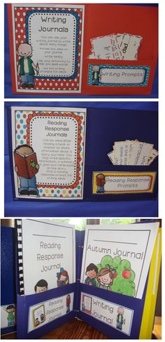 Work on Writing Center Choices and Student Folders! Your students will be writing all year!