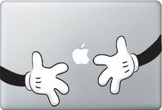 Micky Arms - Macbook Decal Macbook Stickers Macbook pro air Decals  Apple Decal iPad sticker Laptop decals. $8.99, via Etsy.