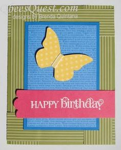stampin up birthday