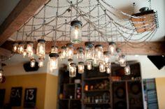Marben restaurant light fixture