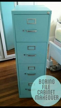 painted file cabinets