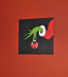 wall art, kids christmas, craft, bedroom decor, canva paint, canvas paintings, christmas art, painting walls, christmas canvas