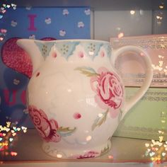 Emma Bridgewater Rose & Bee 0.5 Pint Jug 2014
