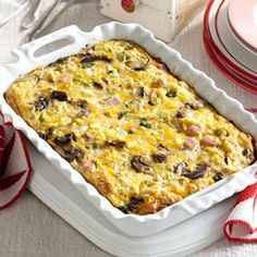 Brunch Strata Recipe from Taste of Home -- shared by Arlene Butler of Ogden, Utah