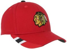 NHL Chicago Blackhawks Youth Structured Adjustable Hat, 4-7 Years,Red adidas. Save 42 Off!. $10.35
