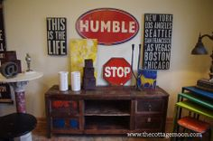 Humble Sign, $53 - cottage moon