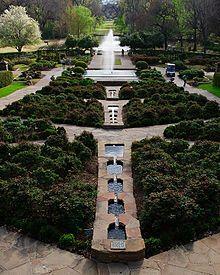 Fort Worth Botanical Garden, Fort Worth, Texas