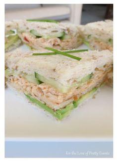 Sandwich fillings on pinterest sandwich fillings for Club sandwich fillings for high tea