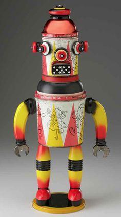 robots, color robot, museum