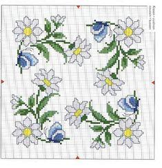 Вышивка крестиком схемы вышивки подушки 350