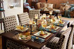 All set for fall. #diningroom