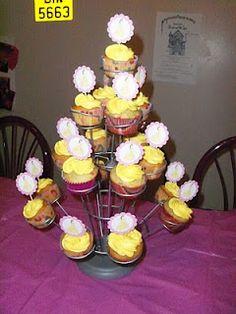 Belle cupcake idea