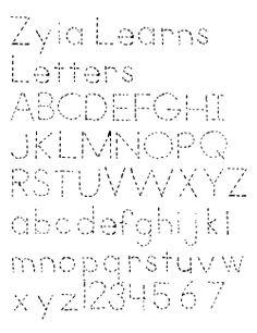 free tracing font