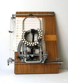 Keaton Musical note typewriter