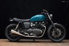 Wrenchmonkees Triumph Thruxton   right side