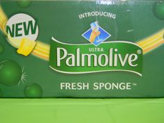Check out a great new product, Palmolive Fresh sponge!