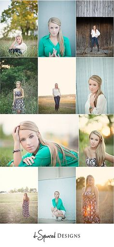 Summer Senior Session by d-Squared Designs