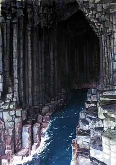 The Most Beautiful Caves in the World - Fingal's Cave, Scotland