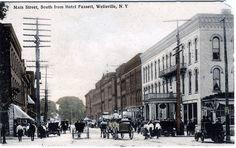 wellsville, NY photos | main street wellsville ny main street looking west wellsville ny